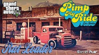 GTA V: Pimp My Ride - RAT LOADER! (MACHINIMA)