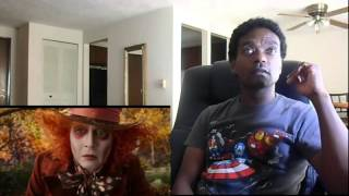 ALICE THROUGH THE LOOKING GLASS (OFFICIAL TRAILER #1) - REACTION!!!!