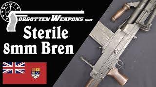 "Canadian 8mm ""Sterile"" Bren Gun"