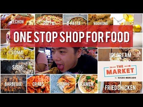 Cebu Best Street Food at the Market by Sugbo Mercado - Food Review mukbang