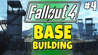 Fallout 4 - Building a Base 4 Prison Island - Gingertanamo Bay