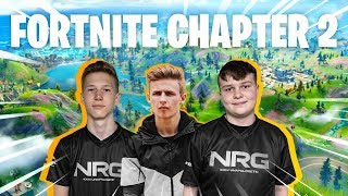NRG Fortnite Team DOMINATES Fortnite Chapter 2 (Benjy First Win, Symfuhny, and Battle Pass Reaction)
