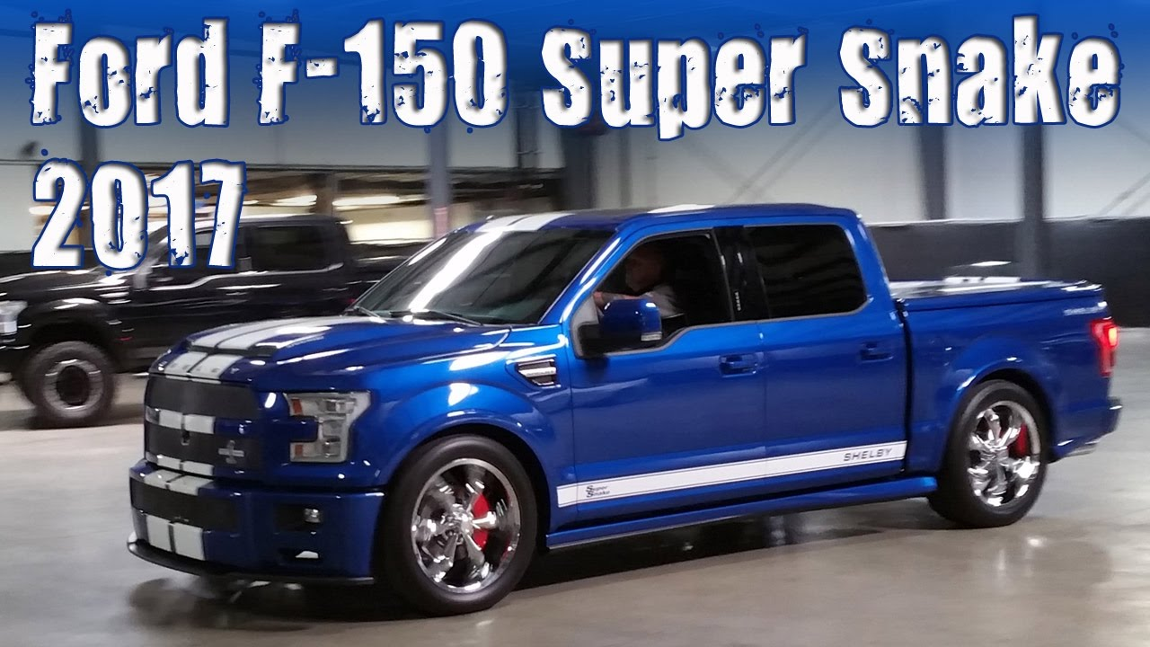 Ford Cobra Truck 2017 >> 2017 Ford F 150 Shelby Super Snake Muscle Truck Youtube