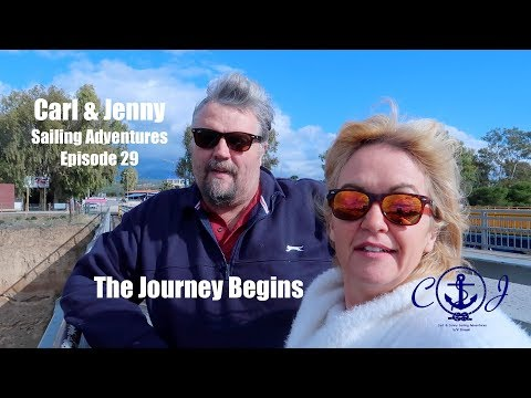 Ep.29 The Journey begins - we set off for the boat - Carl and Jenny