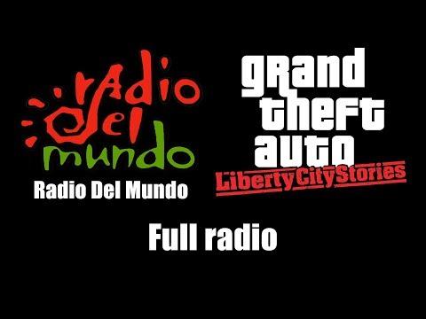 GTA: Liberty City Stories - Radio Del Mundo | Full radio