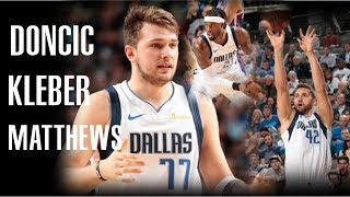 Lukaaa!🔥Luka Doncic, Maxi Kleber & Wesley Matthews Full Highlights vs Suns - Dallas Mavs -10.11.19