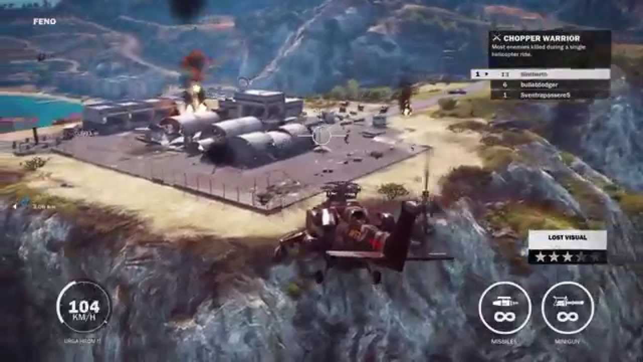 Just cause 3 heli gameplay ps4 hd 720p youtube sciox Image collections