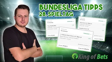 Bundesliga Tipps für die englische Woche 28. Spieltag | King of Bets #Sportwetten