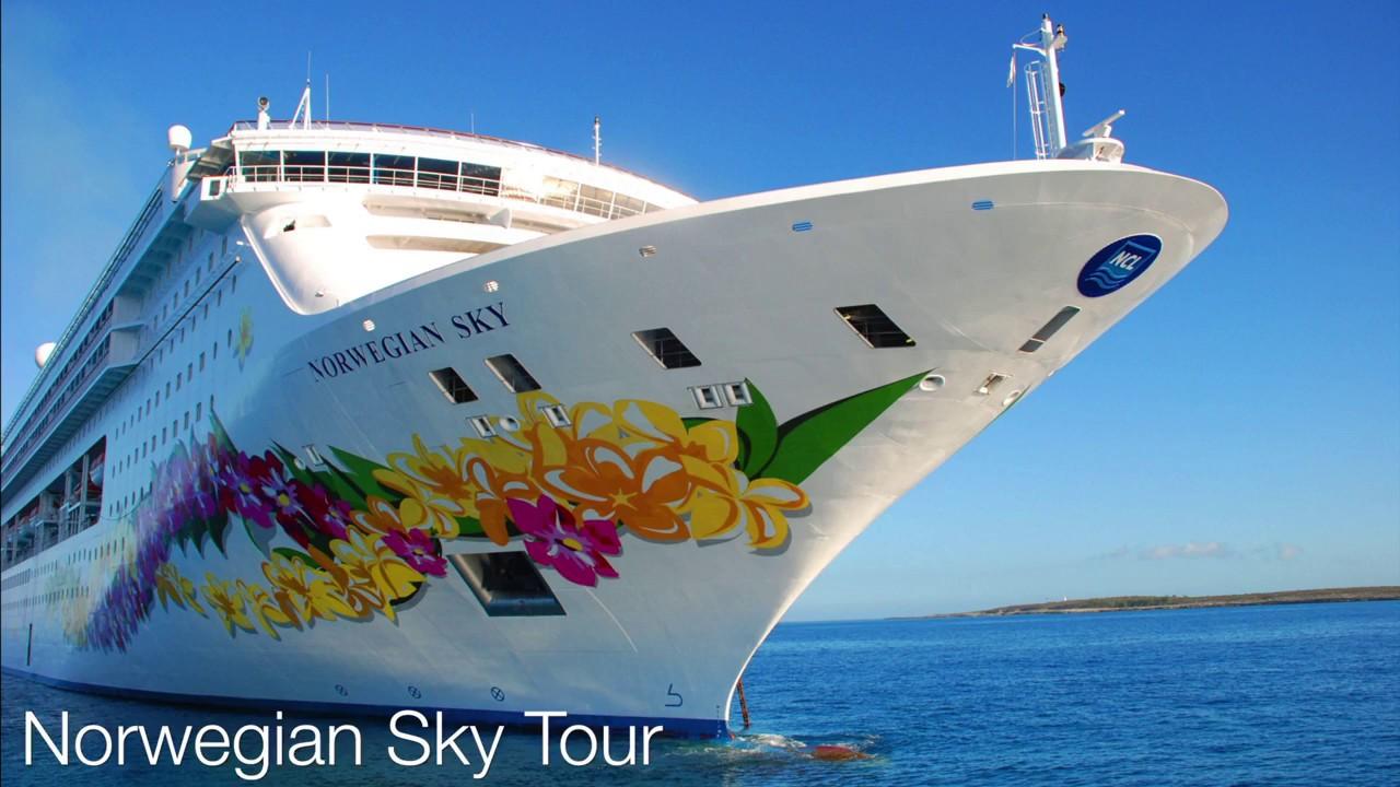 Norwegian Sky Ship Tour Youtube