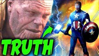 CONFIRMED: The Secret Revealed how Captain America Was ALWAYS worthy of Mjolnir -Avengers Endgame