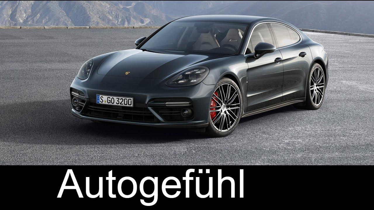 all new porsche panamera turbo first trailer neu 2017. Black Bedroom Furniture Sets. Home Design Ideas