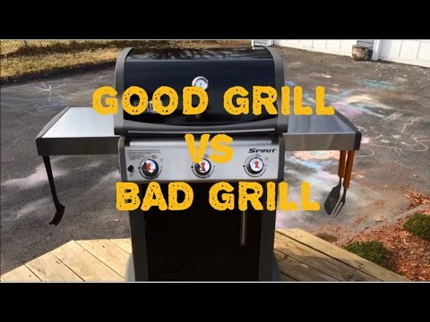 Weber Elektrogrill Vs Gasgrill : Weber spirit e 310 review. good grill vs bad grill youtube
