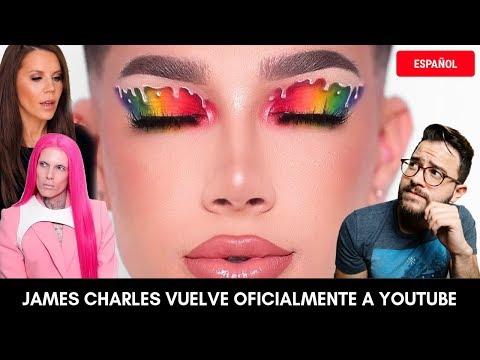 "JAMES CHARLES VUELVE A YOUTUBE TRAS LA POLÉMICA: ""HI Sisters"" EN ESPAÑOL thumbnail"