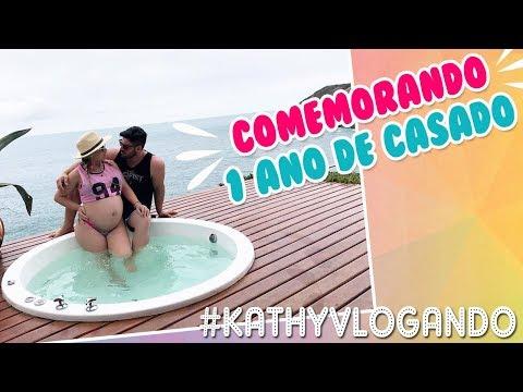 VLOG - VIAGEM DE ULTIMA HORA PRA COMEMORAR 1 ANO DE CASADOS | Kathy Castricini