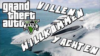 GTA 5 ONLINE - Wilkommen auf meiner Yacht - New Yacht, Car and Houses! - Deutsch