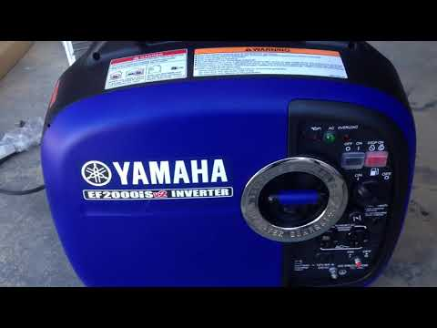 Yamaha EF2000ISV2 Review: Is This Generator Worth Its Price tag?