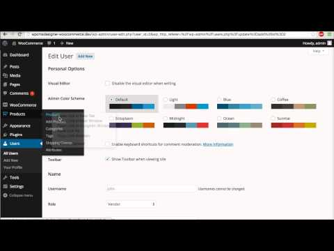 02 - WC Vendors - Add/Edit Vendor Manually (WooCommerce Tutorial)
