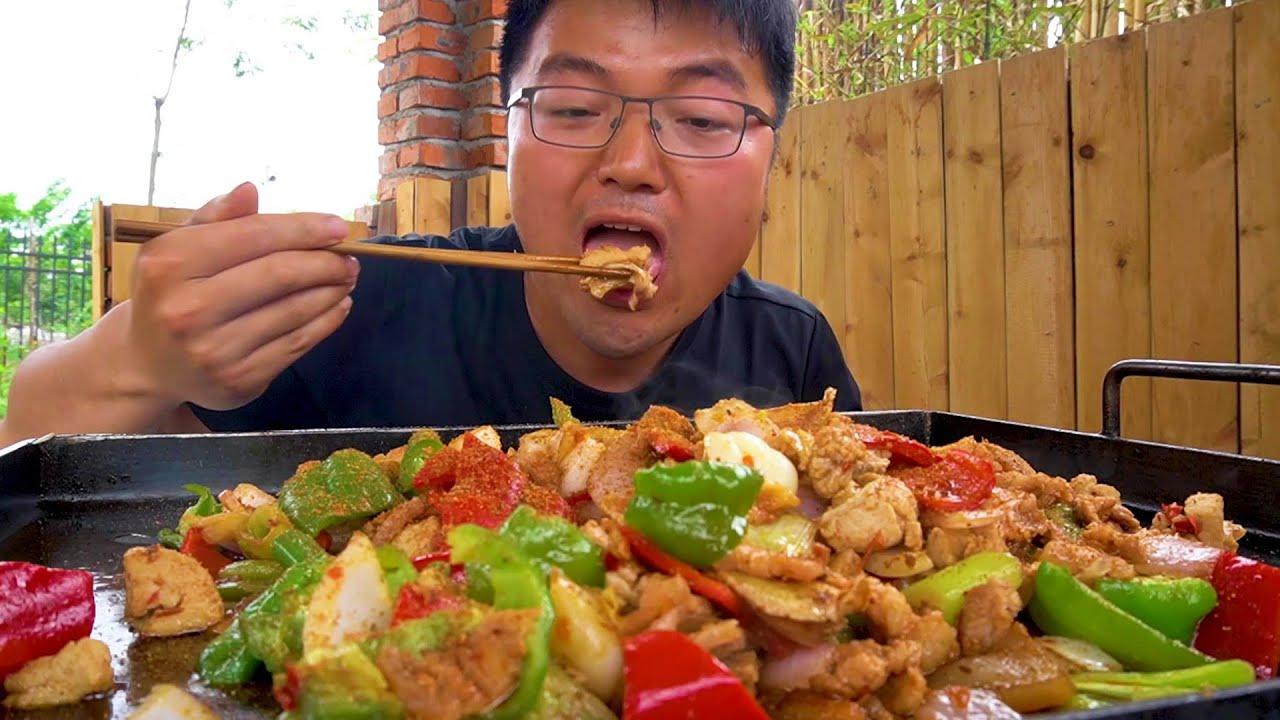 两斤羊宝一斤五花肉,大sao整一顿滋补大餐,一张铁板派上大用处了!【徐大sao】