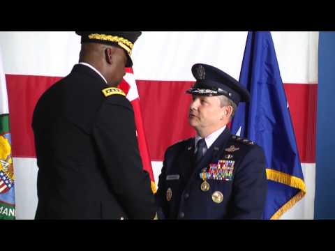 Air Force CENTCOM Change of Command
