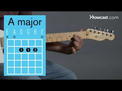 How to Play an A Major Open Chord | Guitar Lessons