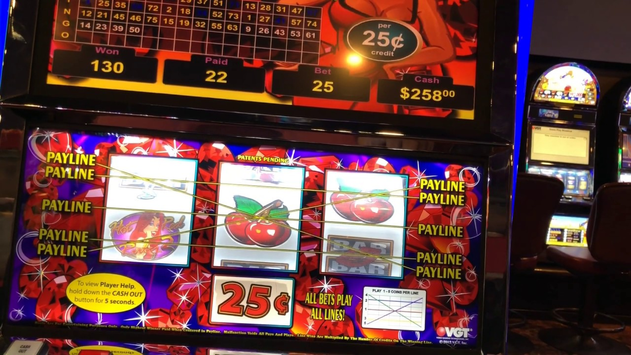 Red hot ruby slot machine pascal triangle gambling