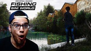 FISHING SIM WORLD GAMEPLAY PC - REALISTIC FISHING GAME EVER !!!