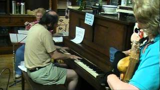 "Fastest ragtime piano yet heard by mere mortals; Tom Brier on ""Redneck Rag""; 174 bpm"