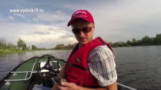 Лодка Солар 500 и мотор Меркури 40 тмс с водометом │ тюнинг лодок солар