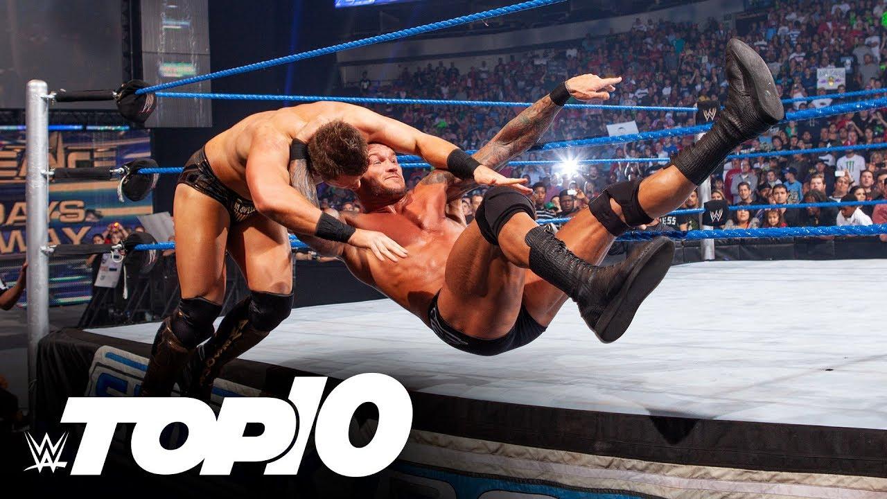 Punishing ring apron moves: WWE Top 10, April 29, 2020
