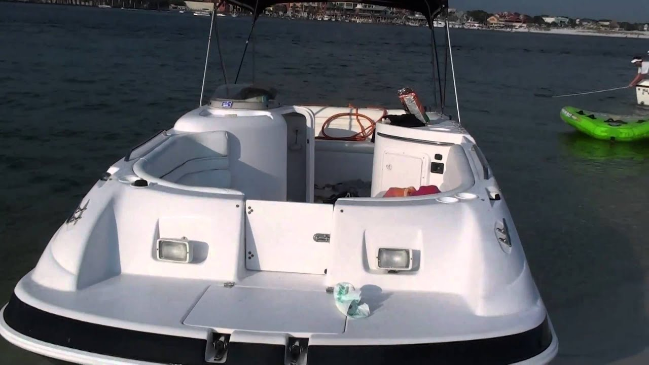 Donzi Deck Boat For Sale Youtube