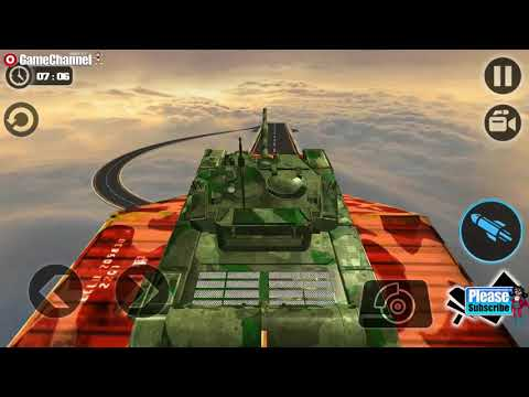 Impossible Army Tank Driving Simulator Tracks / Army Training Game / Android Gameplay Video #4