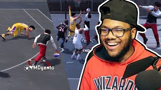 NBA 2k18 Playground - 3x Ankle Breakers + 6'4 Shotmaker Dunks on Whole Team! Ep. 8