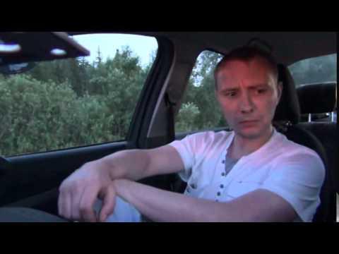 Задержание неадекватного водителя на Honda Civic 72RUS патрулем ДПС