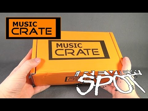 Subscription Spot - Music Crate January 2016 Subscription Box OPENING!