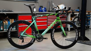 "Specialized Tarmac SL7 S-Works Celebration ""Tour de France Green Jersey"" - Dreambuild / Bikeporn"