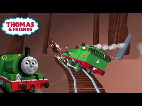 Thomas y sus amigos en español - Percy pasea por la isla de Sodor. Completo. Latino.