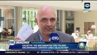 POLÊMICA! Galiotte revela 'fraude grave' de patrocinador interessado no Palmeiras