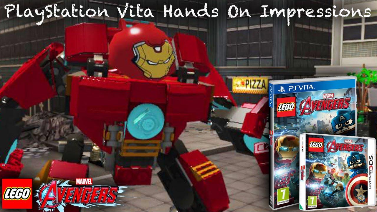Lego Marvel Avengers Ausmalbilder: LEGO Marvel's Avengers Vita/3DS Hands-On Analysis (3DS