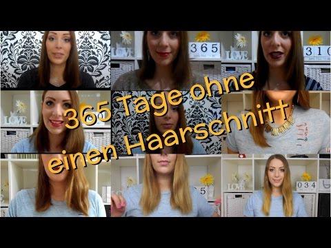365 Tage ohne einen Haarschnitt , ein Jahr in einem Video