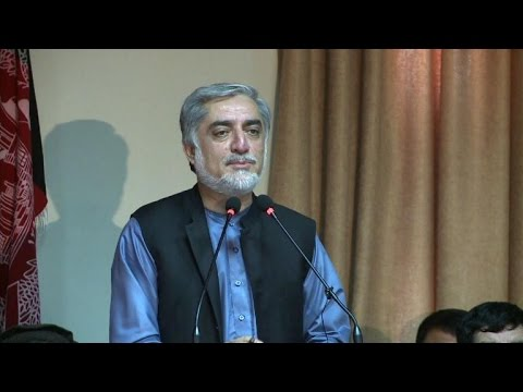 Abdullah insists he won disputed Afghan election