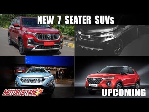 Upcoming 7 Seater SUVs in India in 2019-20 | Hindi | MotorOctane