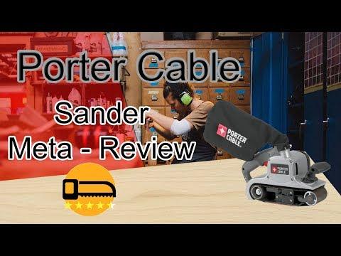 Porter Cable 362V Sander Review  👍