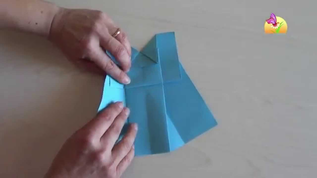 Origami Vestito Blu Hd Www Mammaebambini It Youtube