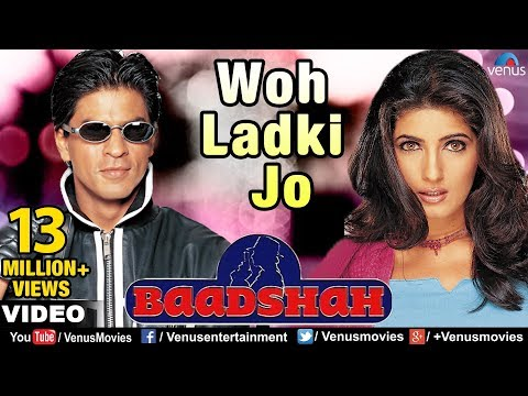 Woh Ladki Jo Full Video Song | Baadshah | Shahrukh Khan, Twi