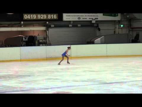 Holly Harris Sydney Figure Skating Club Championships 2014 Novice Ladies