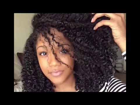 How to stretch Natural Hair: Banding Method