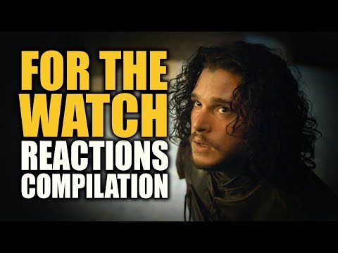 Game Of Thrones FOR THE WATCH Reactions Compilation