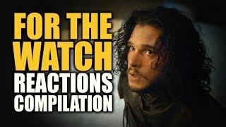 Game of Thrones Season 5 | FOR THE WATCH Reactions Compilation
