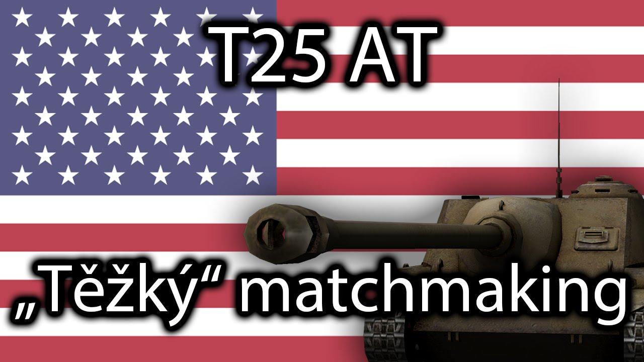 WOT t-25 matchmaking