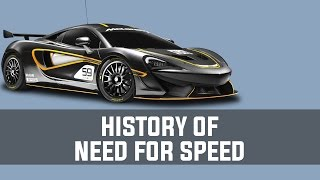 History of Need For Speed (1994-2014)